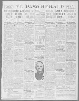 Primary view of object titled 'El Paso Herald (El Paso, Tex.), Ed. 1, Wednesday, June 11, 1913'.