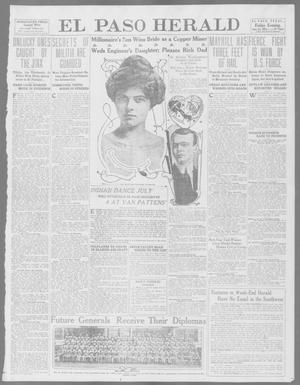 Primary view of object titled 'El Paso Herald (El Paso, Tex.), Ed. 1, Friday, June 13, 1913'.
