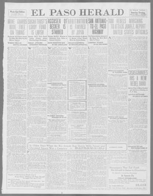 Primary view of object titled 'El Paso Herald (El Paso, Tex.), Ed. 1, Saturday, June 14, 1913'.