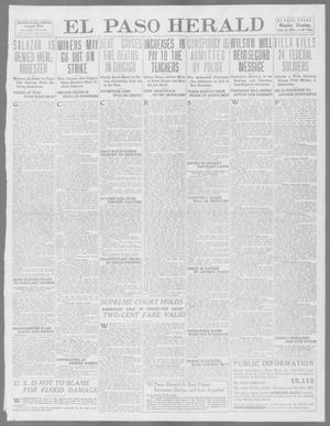Primary view of object titled 'El Paso Herald (El Paso, Tex.), Ed. 1, Monday, June 16, 1913'.