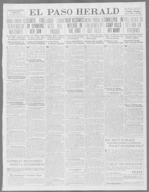 Primary view of object titled 'El Paso Herald (El Paso, Tex.), Ed. 1, Tuesday, June 17, 1913'.