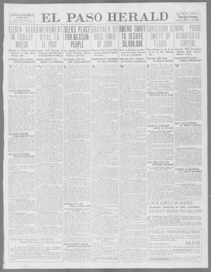Primary view of object titled 'El Paso Herald (El Paso, Tex.), Ed. 1, Thursday, June 19, 1913'.