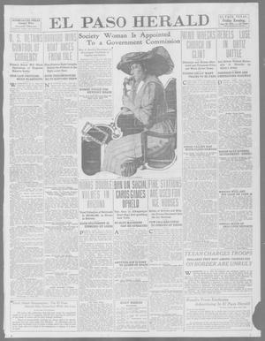 Primary view of object titled 'El Paso Herald (El Paso, Tex.), Ed. 1, Friday, June 20, 1913'.