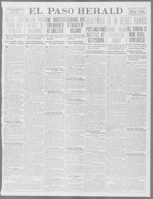 Primary view of object titled 'El Paso Herald (El Paso, Tex.), Ed. 1, Monday, June 30, 1913'.