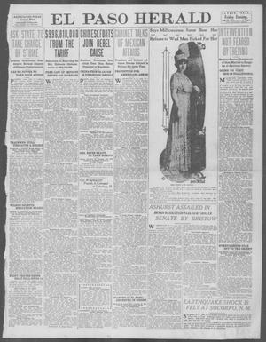 Primary view of El Paso Herald (El Paso, Tex.), Ed. 1, Friday, July 18, 1913