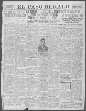 Primary view of El Paso Herald (El Paso, Tex.), Ed. 1, Monday, July 21, 1913