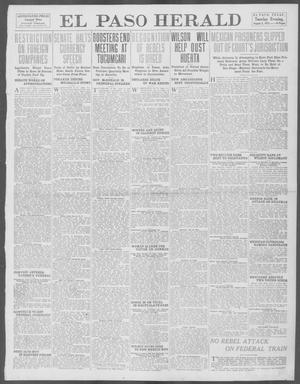 Primary view of object titled 'El Paso Herald (El Paso, Tex.), Ed. 1, Tuesday, August 5, 1913'.