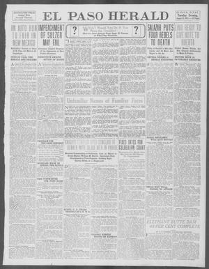 Primary view of object titled 'El Paso Herald (El Paso, Tex.), Ed. 1, Tuesday, August 12, 1913'.