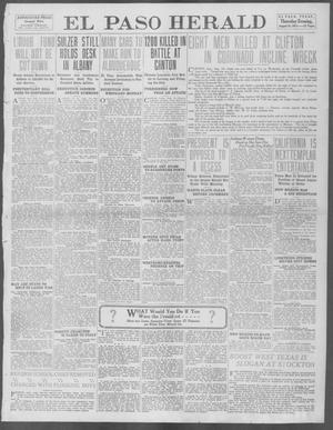 Primary view of object titled 'El Paso Herald (El Paso, Tex.), Ed. 1, Thursday, August 14, 1913'.