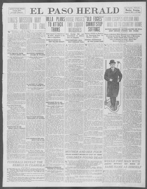 Primary view of object titled 'El Paso Herald (El Paso, Tex.), Ed. 1, Monday, August 18, 1913'.
