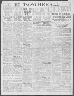 Primary view of object titled 'El Paso Herald (El Paso, Tex.), Ed. 1, Tuesday, August 26, 1913'.