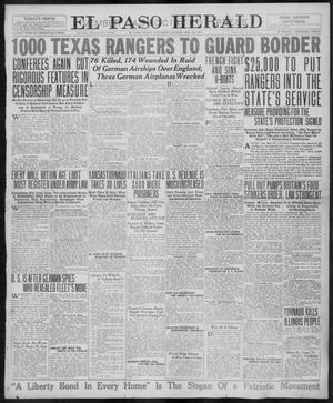 Primary view of object titled 'El Paso Herald (El Paso, Tex.), Ed. 1, Saturday, May 26, 1917'.
