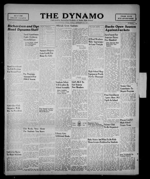 Primary view of object titled 'The Dynamo (Breckenridge, Tex.), Vol. 15, No. 1, Ed. 1 Friday, September 20, 1940'.