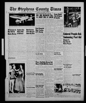Primary view of object titled 'The Stephens County Times (Breckenridge, Tex.), Vol. 5, No. 27, Ed. 1 Thursday, July 7, 1955'.