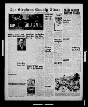 Primary view of object titled 'The Stephens County Times (Breckenridge, Tex.), Vol. 5, No. 42, Ed. 1 Thursday, October 20, 1955'.