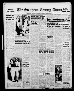Primary view of object titled 'The Stephens County Times (Breckenridge, Tex.), Vol. 7, No. 33, Ed. 1 Thursday, August 15, 1957'.