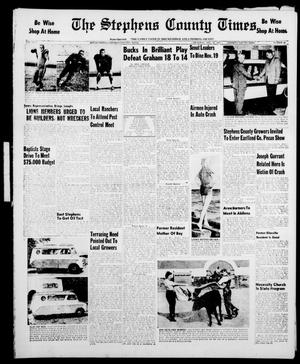 Primary view of object titled 'The Stephens County Times (Breckenridge, Tex.), Vol. 7, No. 46, Ed. 1 Thursday, November 14, 1957'.