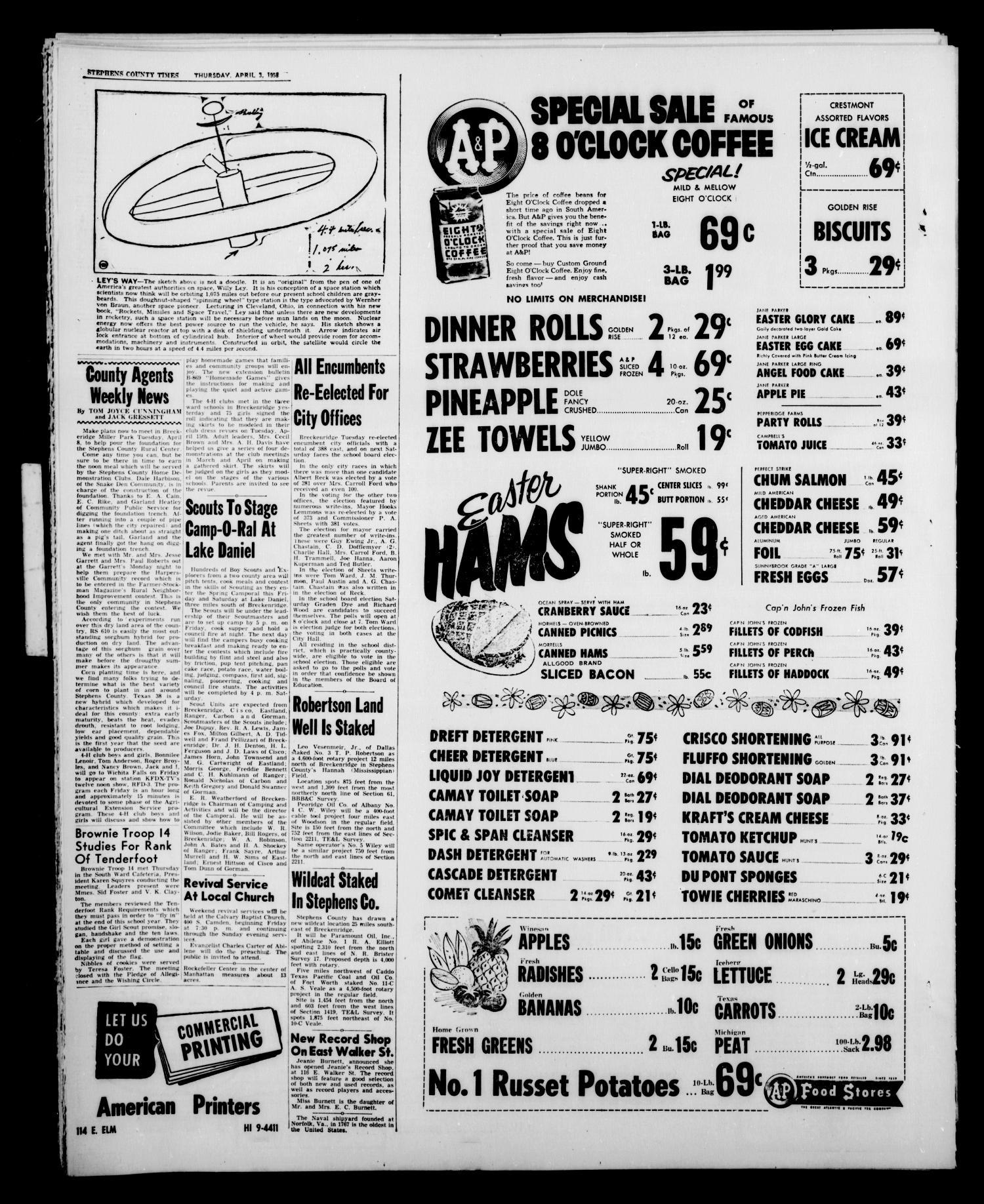 The Stephens County Times (Breckenridge, Tex ), Vol  8, No  14, Ed