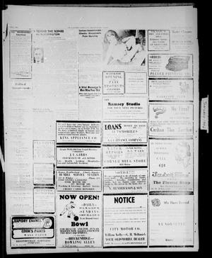 Primary view of object titled 'Stephens County Sun (Breckenridge, Tex.), Ed. 1 Sunday, January 27, 1946'.