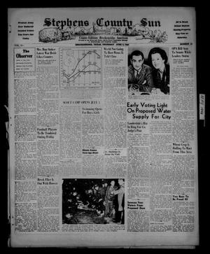 Stephens County Sun (Breckenridge, Tex.), Vol. 15, No. 23, Ed. 1 Thursday, June 6, 1946