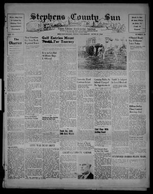Stephens County Sun (Breckenridge, Tex.), Vol. 15, No. 26, Ed. 1 Thursday, June 27, 1946