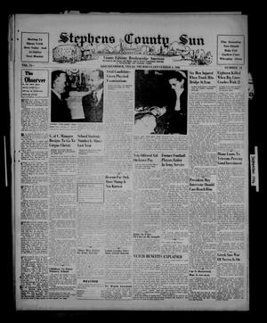 Primary view of object titled 'Stephens County Sun (Breckenridge, Tex.), Vol. 15, No. 34, Ed. 1 Thursday, September 5, 1946'.