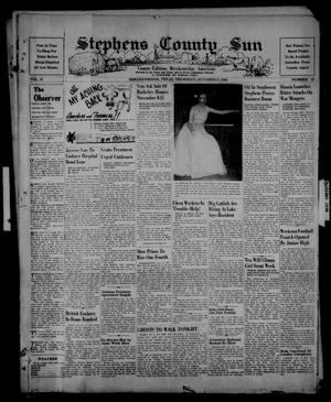 Primary view of object titled 'Stephens County Sun (Breckenridge, Tex.), Vol. 15, No. 42, Ed. 1 Thursday, October 31, 1946'.