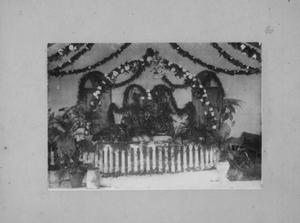 Primary view of object titled '[Altar in Richmond Methodist Church]'.