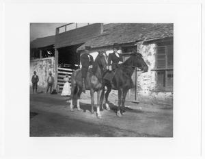 [Man and Woman on Horseback]
