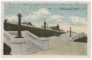 [Approach to North Bluff, Corpus Christi]