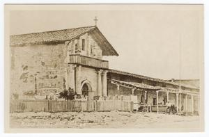 Primary view of object titled '[Mission Dolores about 1833]'.