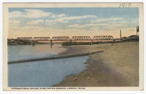 Primary view of object titled '[International Bridge over the Rio Grande]'.