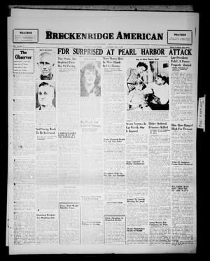 Primary view of object titled 'Breckenridge American (Breckenridge, Tex.), Vol. 26, No. 3, Ed. 1 Thursday, January 3, 1946'.