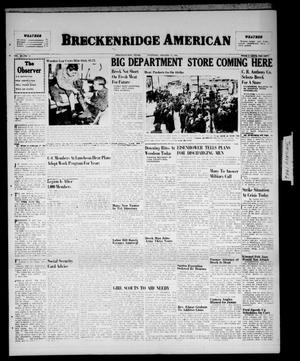 Primary view of object titled 'Breckenridge American (Breckenridge, Tex.), Vol. 26, No. 13, Ed. 1 Thursday, January 17, 1946'.