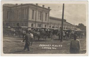 Primary view of object titled '[Market House, Laredo, Texas]'.