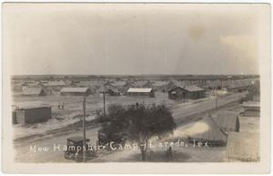 Primary view of object titled '[Ft. McIntosh, Laredo, Texas]'.