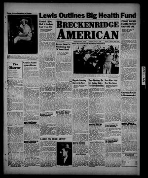 Primary view of object titled 'Breckenridge American (Breckenridge, Tex.), Vol. 26, No. 90, Ed. 1 Tuesday, May 14, 1946'.