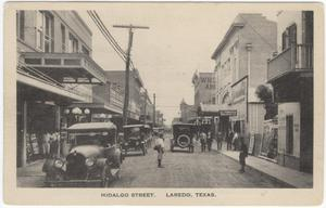 Primary view of object titled '[Hidalgo Street, Laredo, Texas]'.