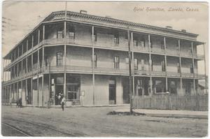 Primary view of object titled '[Hamilton Hotel, Laredo, Texas]'.