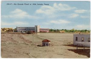 Primary view of object titled '[Rio Grande Flood of 1954, Laredo, Texas]'.