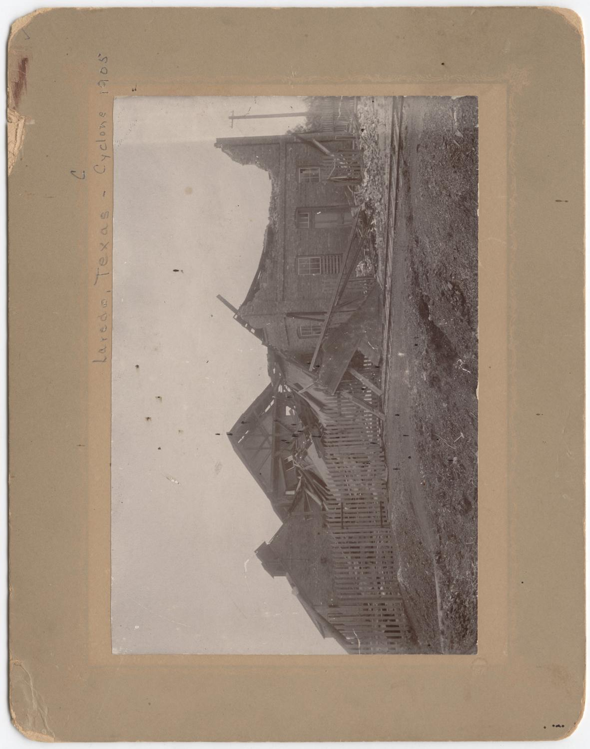 [Buildings destroyed by tornado 1905]                                                                                                      [Sequence #]: 1 of 1