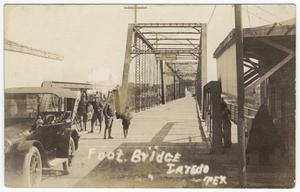 Primary view of object titled '[International Bridge between Laredo, Texas and Mexico]'.