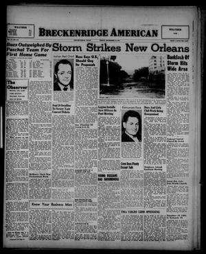 Primary view of object titled 'Breckenridge American (Breckenridge, Tex.), Vol. 27, No. 212, Ed. 1 Friday, September 19, 1947'.