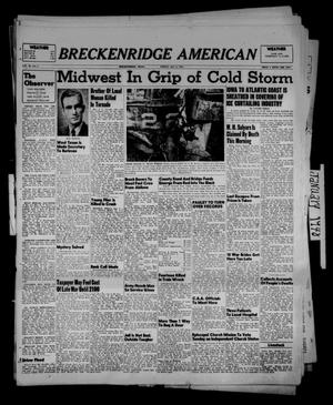 Primary view of object titled 'Breckenridge American (Breckenridge, Tex.), Vol. 28, No. 2, Ed. 1 Friday, January 2, 1948'.