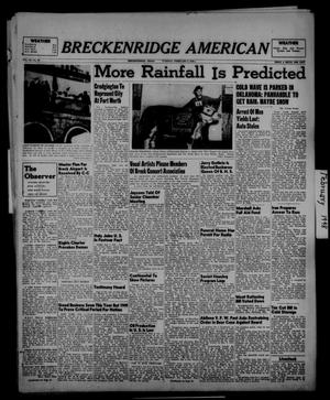 Primary view of object titled 'Breckenridge American (Breckenridge, Tex.), Vol. 28, No. 28, Ed. 1 Tuesday, February 3, 1948'.