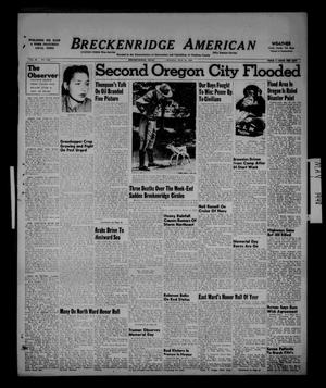 Primary view of object titled 'Breckenridge American (Breckenridge, Tex.), Vol. 28, No. 120, Ed. 1 Monday, May 31, 1948'.