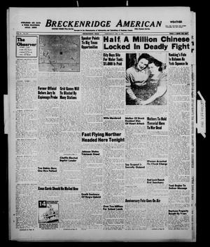 Primary view of object titled 'Breckenridge American (Breckenridge, Tex.), Vol. 28, No. 270, Ed. 1 Wednesday, December 8, 1948'.