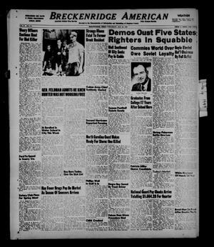 Primary view of Breckenridge American (Breckenridge, Tex.), Vol. 29, No. 173, Ed. 1 Wednesday, August 24, 1949