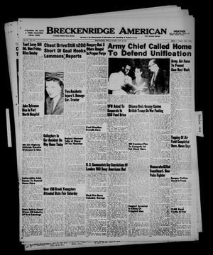 Primary view of Breckenridge American (Breckenridge, Tex.), Vol. 29, No. 216, Ed. 1 Sunday, October 16, 1949