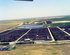 [Aerial Photograph of Feed Yards in Deaf Smith County]